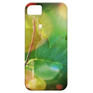 神秘的な葉のテーマのiPhone 5/5S、やっとそこに iPhone SE/5/5s ケース