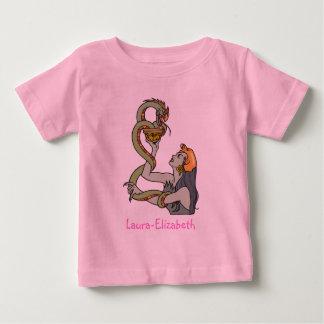 神秘的な蛇の尼僧 ベビーTシャツ
