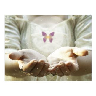 神秘的な蝶 ポストカード