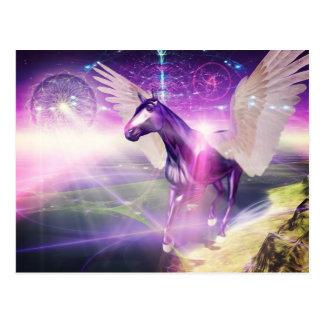神秘的な馬 ポストカード