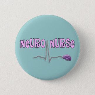 神経のナースボタン 5.7CM 丸型バッジ