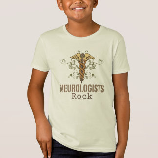 神経学者の石はオーガニックなTシャツをからかいます Tシャツ