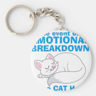 神経衰弱猫 キーホルダー