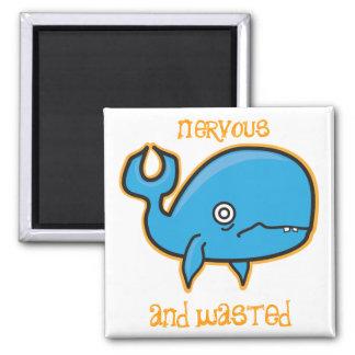 神経質な、無駄にされたクジラの磁石 マグネット