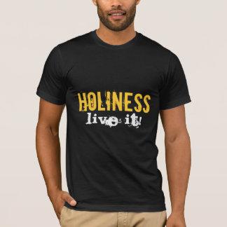 神聖さは、それ住んでいます! 基本的なTシャツ Tシャツ
