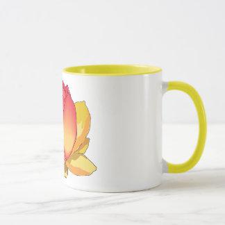 神聖なはすの花のマグ マグカップ