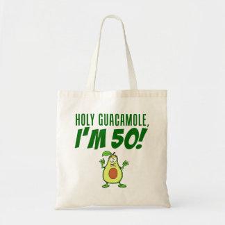 神聖なグアカモーレ私は50の漫画のアボカドです トートバッグ
