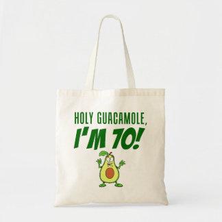 神聖なグアカモーレ私は70の漫画のアボカドです トートバッグ