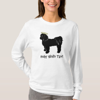 神聖なシーズー(犬) Tzu Tシャツ