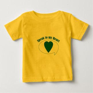 神聖なハートのTシャツ ベビーTシャツ