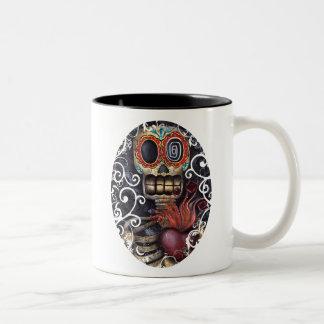 神聖なハート ツートーンマグカップ