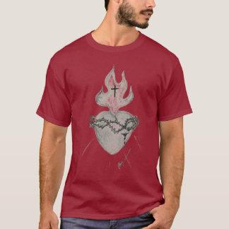 神聖なハート Tシャツ