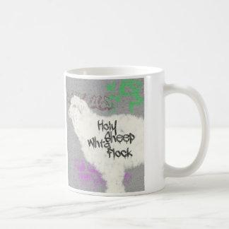 神聖なヒツジ コーヒーマグカップ