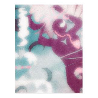 神聖なフェミニンの ポストカード