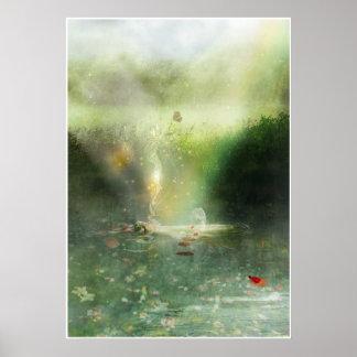 神聖なプール ポスター