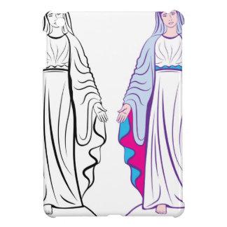 神聖なヴァージンの教母のベクトル iPad MINIケース