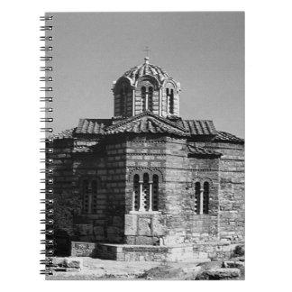 神聖な使徒1970年のギリシャアテネ教会 ノートブック