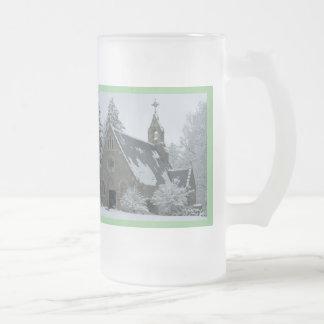 神聖な冬 フロストグラスビールジョッキ