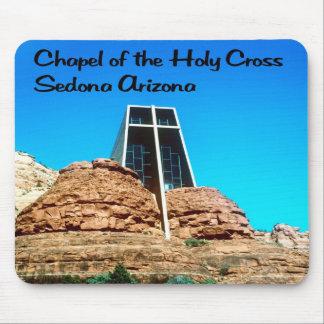神聖な十字のセドナアリゾナのチャペル マウスパッド
