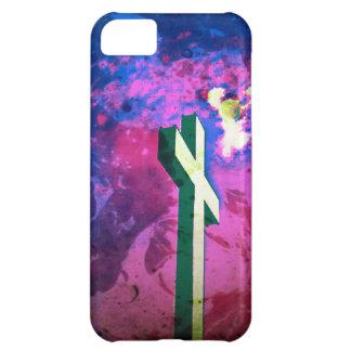 神聖な十字のラズベリーか青いビロードのiPhone 5cケース iPhone5Cケース