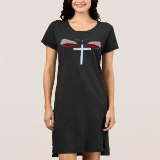 神聖な十字の翼 ドレス
