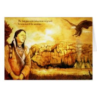 神聖な土地 カード