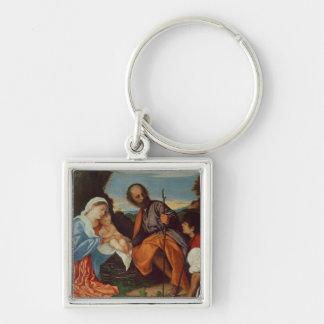 神聖な家族および羊飼い、c.1510 キーホルダー