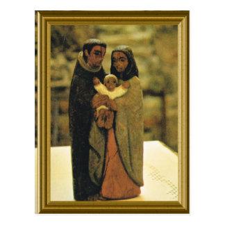 神聖な家族のモデル ポストカード