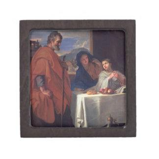 神聖な家族、か優美(キャンバスの油) ギフトボックス