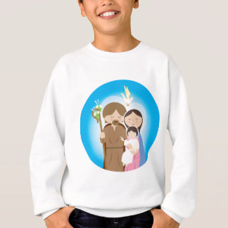 神聖な家族 スウェットシャツ