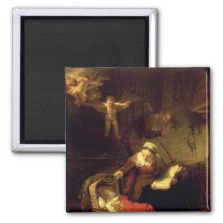 神聖な家族、c.1645 マグネット