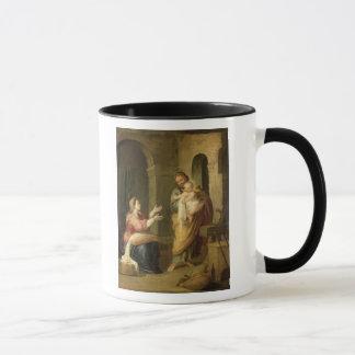 神聖な家族、c.1660-70 マグカップ