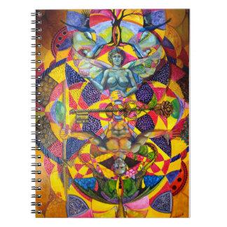 神聖な幾何学のノート ノートブック
