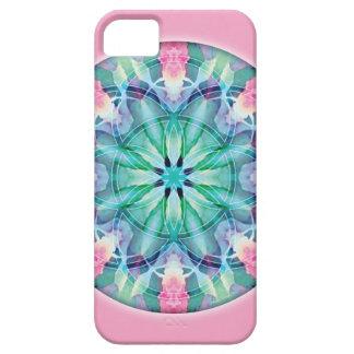 神聖な幾何学の曼荼羅11のiPhone 5の場合 iPhone SE/5/5s ケース
