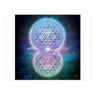 神聖な幾何学7 ポストカード