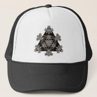 神聖な幾何学: 黒い三角形: キャップ