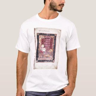 神聖な本を書いているEzra Tシャツ