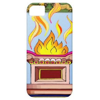神聖な炎 iPhone SE/5/5s ケース