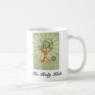 神聖な緑葉カンランのマグ コーヒーマグカップ