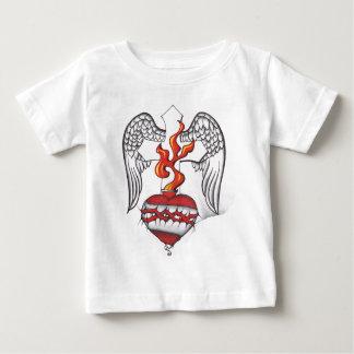 神聖な翼 ベビーTシャツ