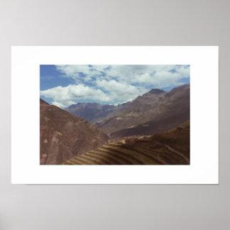 神聖な谷、ペルー ポスター
