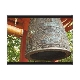 神聖な鐘Byodoのの キャンバスプリント