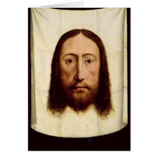 神聖な顔、c.1450-60 カード