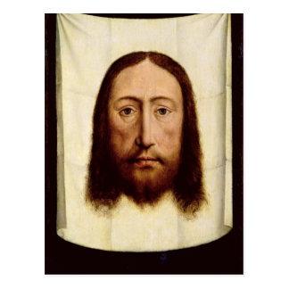 神聖な顔、c.1450-60 ポストカード