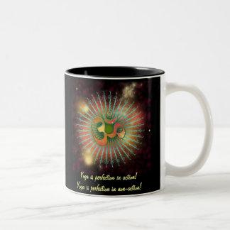 神聖なOM ツートーンマグカップ