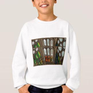 神聖なSagrada教会Windowsの美しいスピリチュアル スウェットシャツ