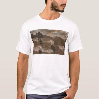 神聖なSagrada教会Windowsの美しいスピリチュアル Tシャツ