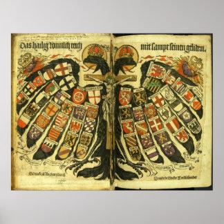 神聖ローマ帝国Jost de Negkerの州 ポスター