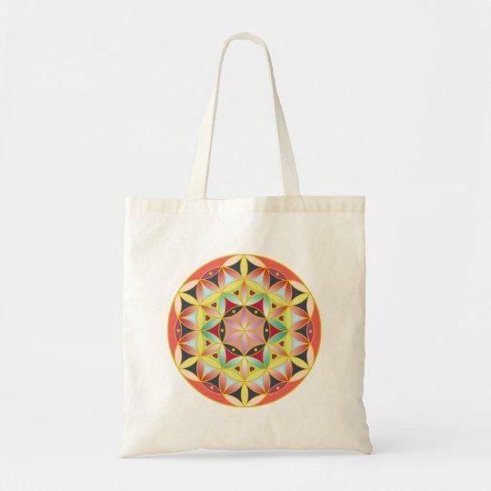 神聖幾何学フラワーオブライフ basic tote bag トートバッグ