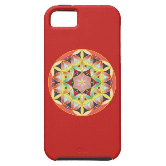 神聖幾何学フラワーオブライフ iPhone case iPhone SE/5/5s ケース